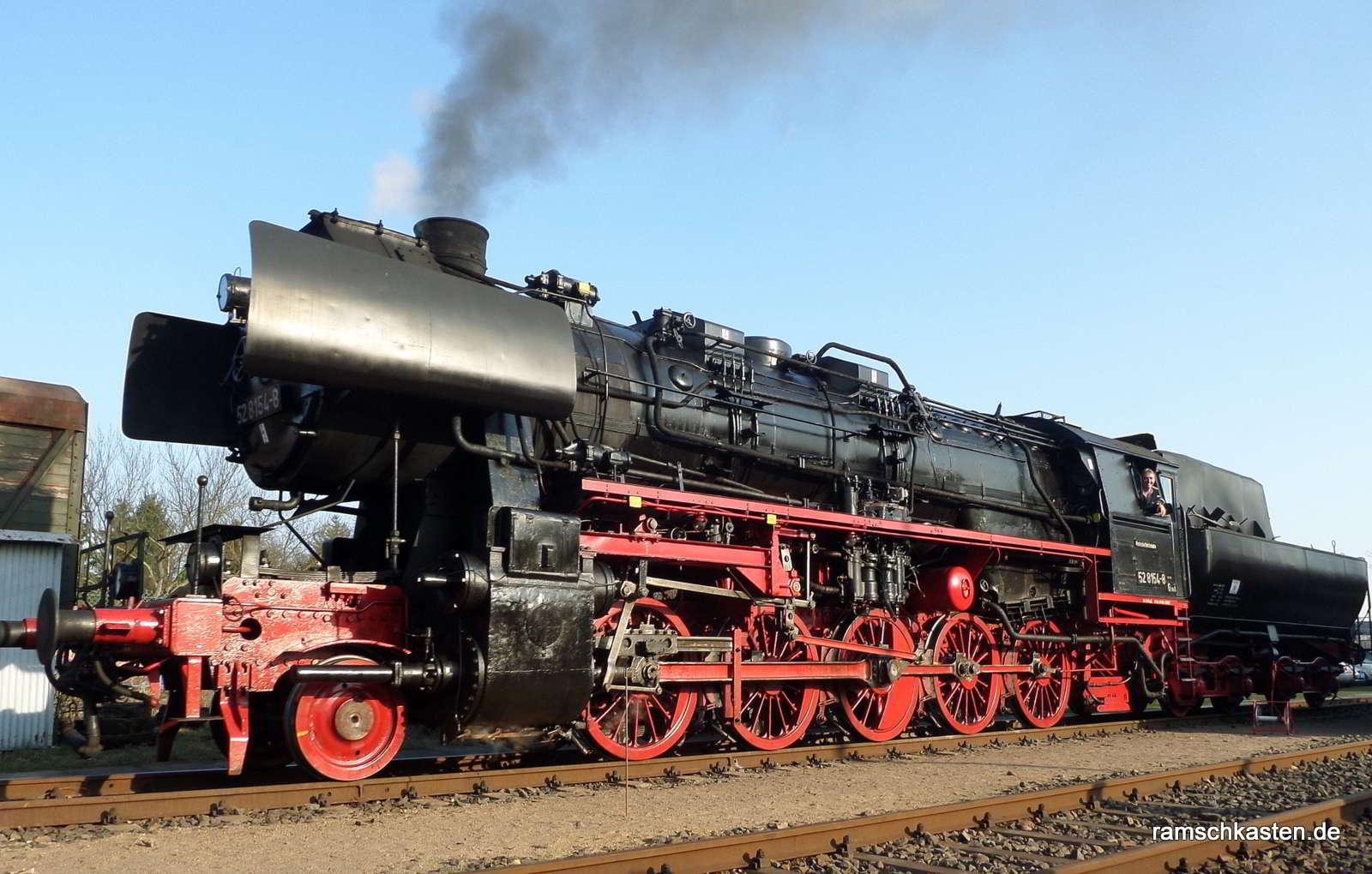 Die schnellste Dampflok der Welt war in Leipzig