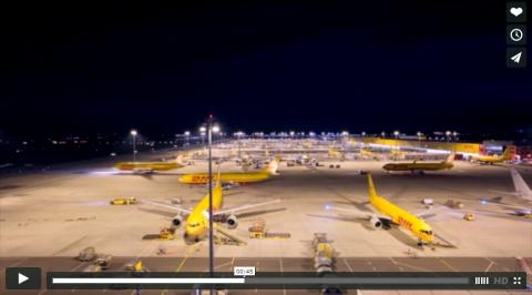 LEJ – Postflieger wuseln durch die Nacht – Videofundstück