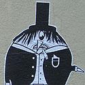 der böse Pinguinman