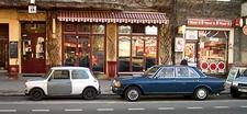 richtige Autos aus alten Epochen