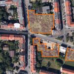 Luftbild der aktuellen Rodungen in Stötteritz (©GoogleMaps)